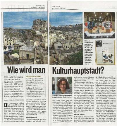 Kleine Zeitung_2016.03.09_Kulturhauptstadt